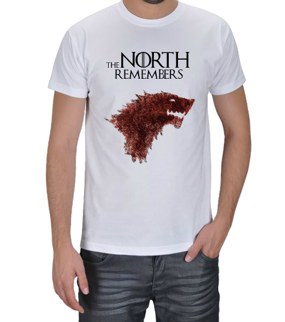 Fanart - THE NORTH REMEMBERS Erkek Tişört