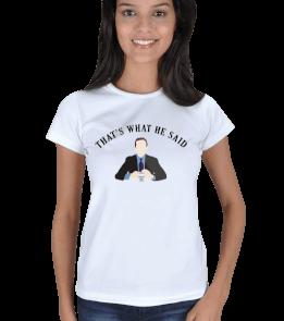Cactus Shop - The Office Kadın Tişört