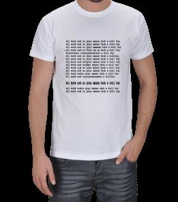SinemaBaskı - THE SHINING Özel Tasarım Tişört Erkek Tişört