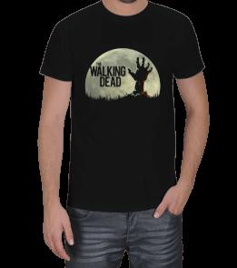 Turuncu Oda Tasarım - The Walking Dead Baskılı Erkek Tişört
