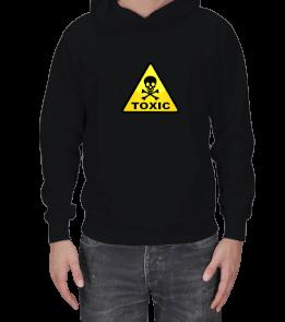 Dream Design - Toxic Levha Tasarım Erkek Kapşonlu