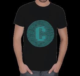 E.Ç. TASARIM - Turkuaz C programcı Erkek Tişört