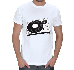 DJs T-Shirt Store - Turntable Erkek Tişört