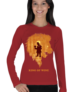 Tasarım Atölyesi - Tyrion Lannister The Lion -K Kadın Uzun Kol