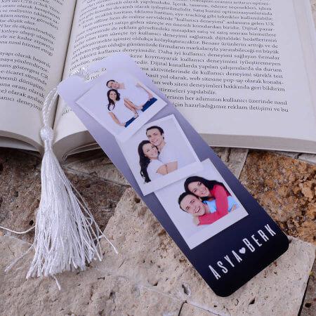 Tisho - Üç Fotoğraflı Kitap Ayracı