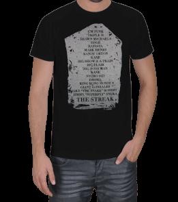 Güreş Market - Undertaker Mezar Taşı Erkek Tişört