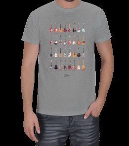 FEK TASARIM - Ünlü Gitaristlerin Gitarları Erkek Tişört