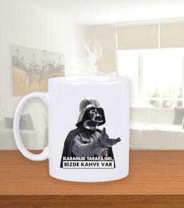 RAR - Vader Coffee Beyaz Kupa Bardak