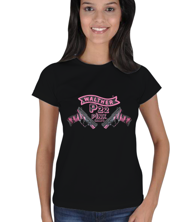 bgazishop - WALTHER P22 Kadın Tişört