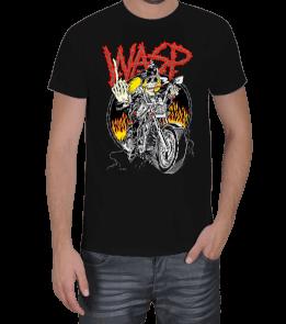 YARASA - W.A.S.P. - MEAN MAN 1989 - Vintage Erkek Tişört