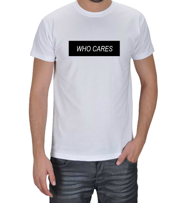 Özgür Klavye - Who Cares Erkek Tişört