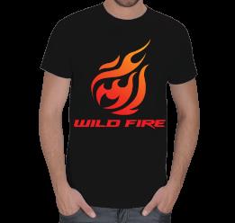 Odd Tasarım - Wild Fire T-Shirt Erkek Tişört
