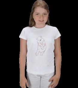 Visual design - winnie pooh Çocuk Karpuz Kol