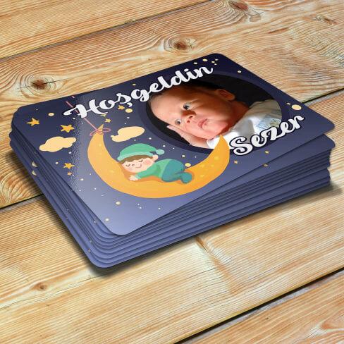 - Yeni Doğan Erkek Bebek Magneti